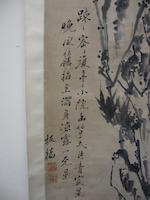 Various Artists (19th century) Two hanging scrolls