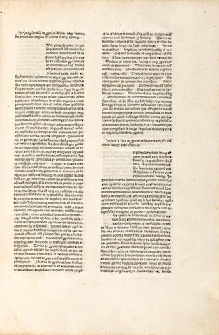 BARTHOLOMAEUS ANGLICUS. c.1203-1272. De proprietatibus rerum. [Basel: Berthold Ruppel, c.1470 or 1480.]<BR />