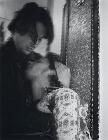 A Bruce Weber photograph of Keeanu Reeves and River Phoenix