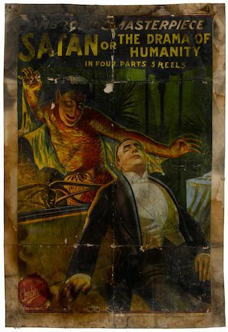 1912 Satan Poster