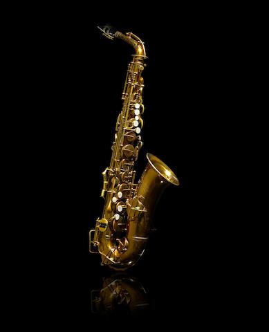 A Charlie Parker Buescher Aristocrat E-flat alto saxophone