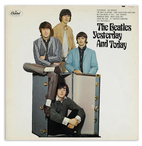 A Beatles Yesterday and Today second state mono LP