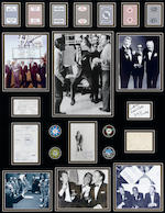 A group of Rat Pack memorabilia