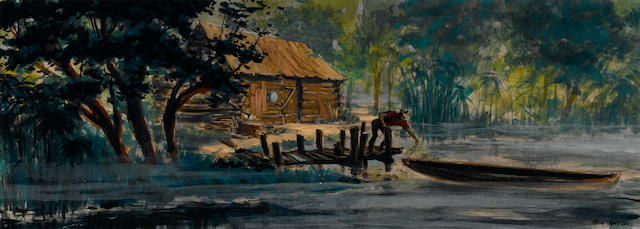 A scene study for The Yearling