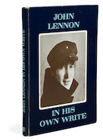 A copy of John Lennon's In His Own Write inscribed to Walter Shenson