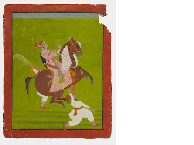 An Indian miniature painting Udaipur, Rajasthan, circa 1785