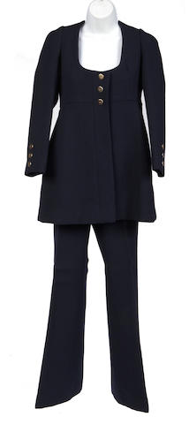 A Gunter Project2 navy jacket and pant