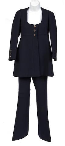 A Gunter Project2 navy jacket and pant