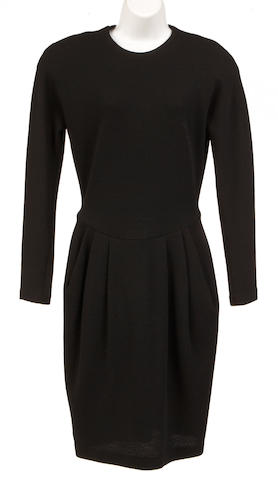 A Donna Karan black dress