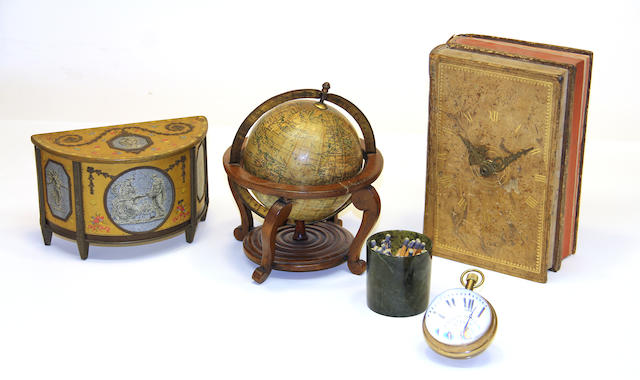 A group of five various desk articles 20th century