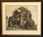 Three engravings after Piranesi
