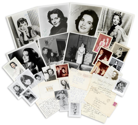 A group of Natalie Wood letters and photographs