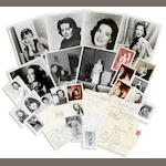 Natalie Wood group of letters and photographs