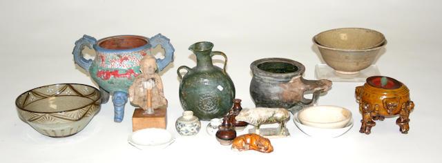A group of Asian ceramics