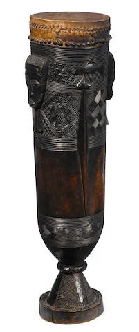 Large Lele Drum, Democratic Republic of the Congo