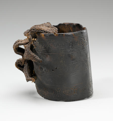 Incised Armband, Coastal Sepik Region, Papua New Guinea
