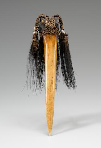 Ceremonial Dagger, East Sepik Province, Papua New Guinea