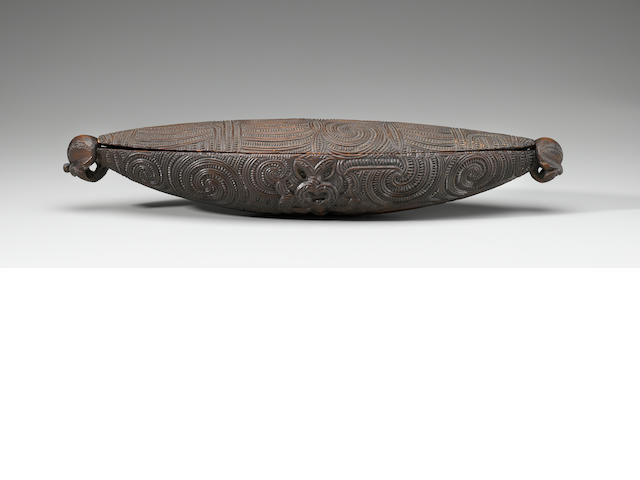 Maori Feather Box, New Zealand