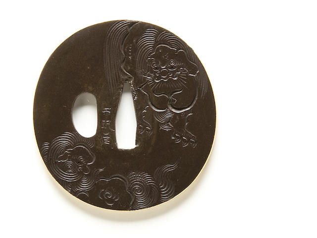 A Somin school tsuba Edo period (19th century)