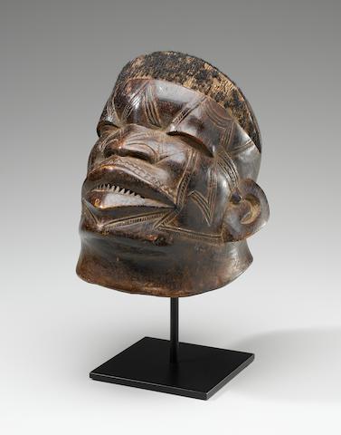 Makonde Helmet Mask, Mozambique