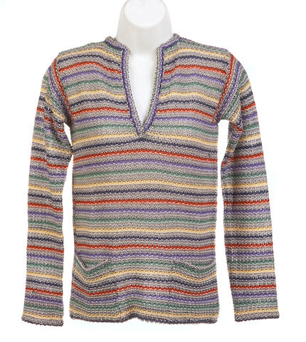 A group of four Missoni multi colored sweaters