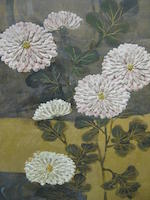 Anonymous (19th century) Chrysanthemum and Ginko Tree