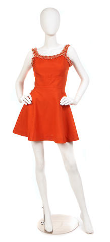A Laurence et Cie bead-trimmed dress