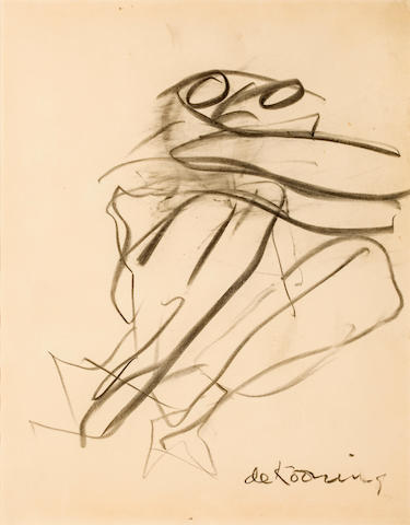 Willem de Kooning (1904-1997) Untitled, 1967 24 1/4 x 19in. (61.6 x 48.2cm)