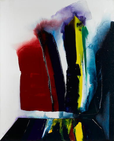 Paul Jenkins (1923-2012) Phenomena A Certain Function Held, 1989 39 3/8 x 31 7/8in. (100 x 81cm)