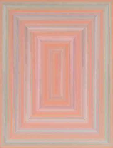 Richard Anuszkiewicz (American, born 1930) Untitled, 1971 21 x 15 7/8in. (53.3 x 40.3cm)
