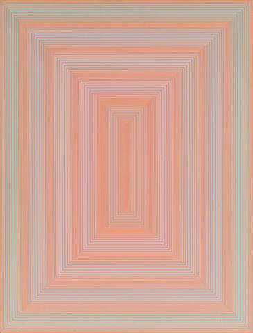 Richard Anuszkiewicz (American, born 1930) Untitled, 1971 21 x 15 7/8in. (53.3 x 40.3cm)