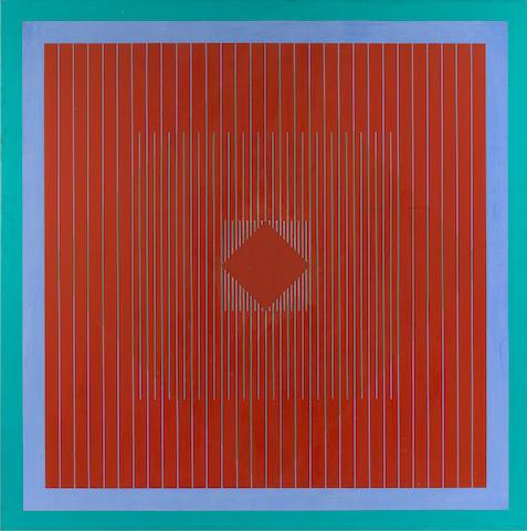 Richard Anuszkiewicz (born 1930) Untitled, 1964 36 x 36in. (91.5 x 91.5cm)