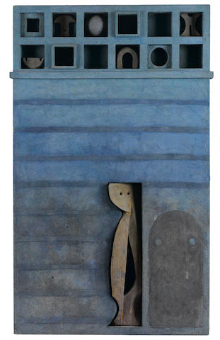 Marcelo Bonevardi (Argentinian, 1929-1994) Short Calendar, 1967 36 1/2 x 22 1/2 x 2 1/4in. (92.7 x 57.6 x 5.7cm)