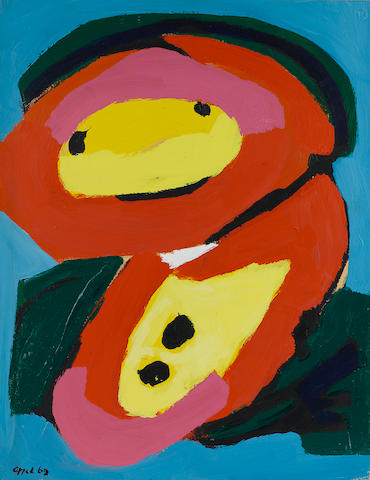 Karel Appel (1929-1994) Untitled, 1969 25 5/8 x 19 3/4in. (65 x 50cm)