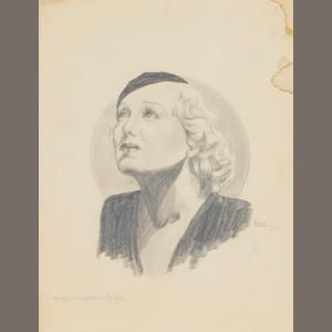 A PEGGY HOPKINS JOYCE DRAWING