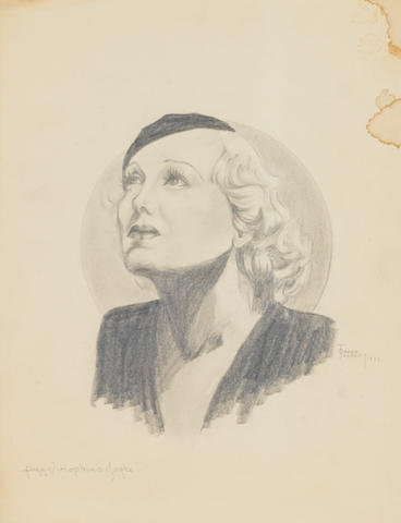 A portrait of Peggy Hopkins Joyce