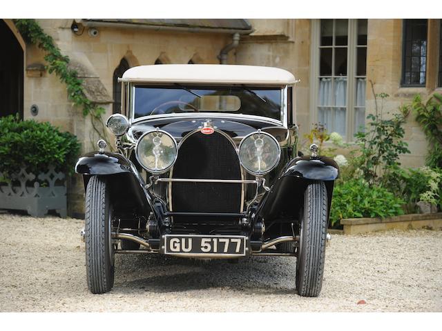 'La Petite Royale' ,1930 Bugatti Type 46 Faux Cabriolet