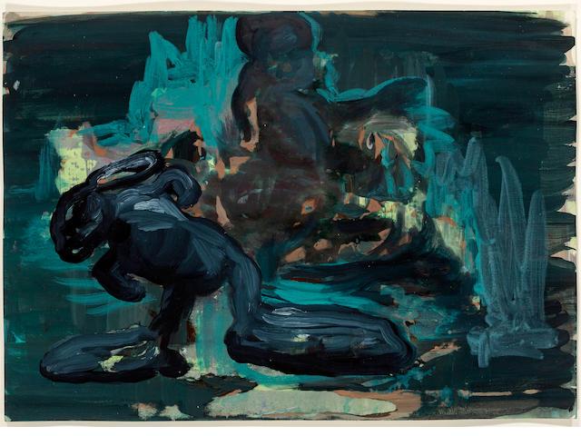 Rezi van Lankveld (born 1973) Untitled, 2002 15 x 19.5in. (38.1 x 49.5cm)