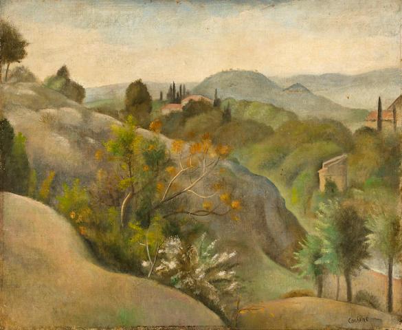 Otakar (Othon) Coubine (1883-1969) Landscape 20 x 24 in. (50.6 x 60.8 cm.)