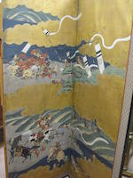 Anonymous (18th century)<BR />The Battle of Kawanakajima