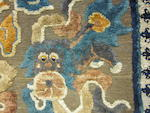 A silk pile carpet with metallic thread ground Republic period