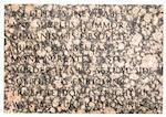Jenny Holzer (born 1950) Truism Footstool, 1988 16 x 23 x 16in. (40.6 x 58.4 x 40.6cm)