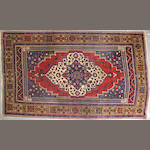 A Turkish carpet  size approximately 7ft 7in x 12ft 6in