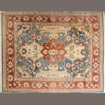 An Indian carpet size approximately 8ft x 10ft