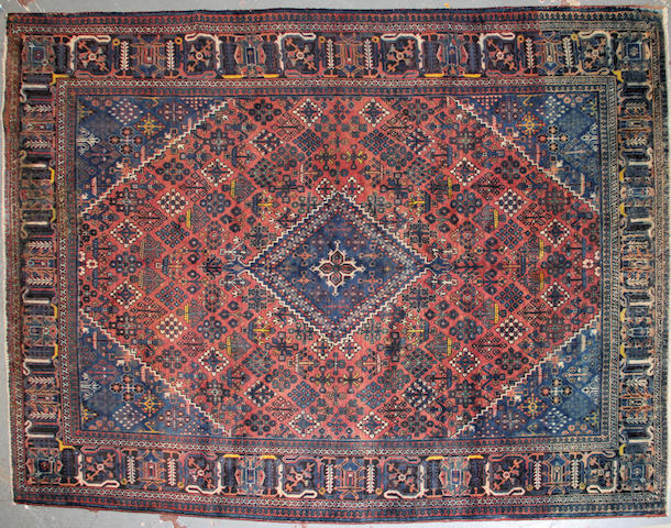 A Northwest Persian carpet size approximately 8ft 9in x 11ft