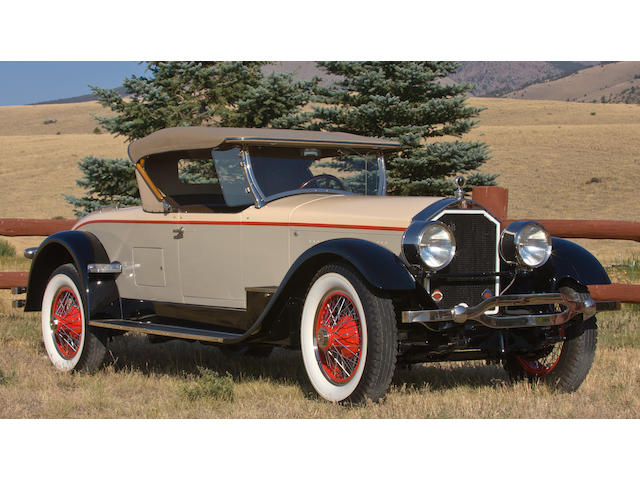 1928 Stearns-Knight F-6-85 6-Passenger Roadster  Chassis no. F-1368 Engine no. F-1368