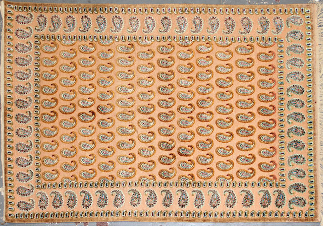A Kashan souf design rug 4ft. 6in. x 6ft. 7in.
