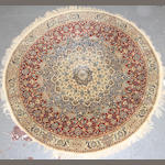 A Nain round rug size approximately 6ft. 7in. round