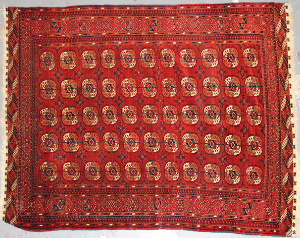 A Turkoman rug size approximately 4ft. 8in. x 6ft. 7in.