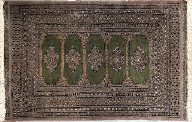 A Group of three Pakistani rugs